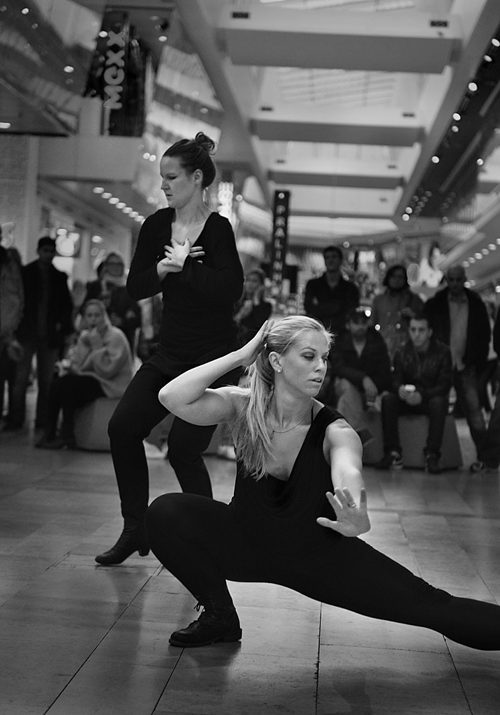 Pop Up Art i Gallerian, Stockholm